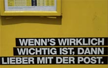Briefkasten-Aktion für die Fernwärme in Hamburg
