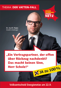 Cover Faltblatt Der Vatten-Fall Hamburg