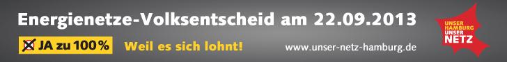 Superbanner - Energienetze-Volksentscheid am 22.09.2013